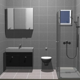 Banyo - Dolap - Modelleri - 45