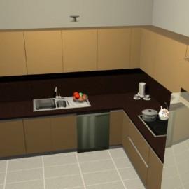 Mutfak - Dolap - Modelleri - 23